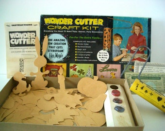 Vintage Wonder Cutter Craft Kit