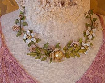 pastoral necklace 1 headpiece necklace combination