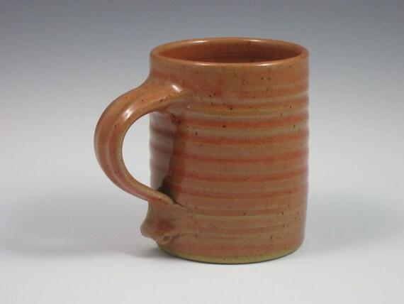 Glossy Coral Large Mug