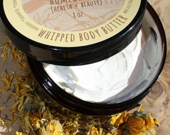 Whipped Body Butter (With Calendula)