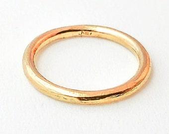Organic Ring Gold 18K (yellow, rose or white)