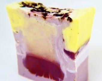 SOAP - Hawaiian Hibiscus Handmade Soap, Vegan Soap, Tropical Soap, Soap Gift