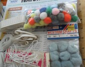 Large assorted group of Vintage Crafting and/or sewing supplies