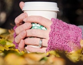 Coffee Date Fingerless Gloves