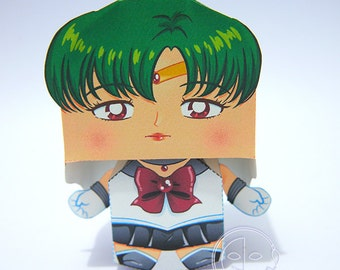 Sailor Pluto Printable Paper Craft PDF