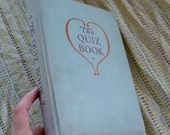 Hollow vintage book - The Quiz Book