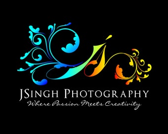 6 pc Photography Logo Design Package, OOAK Branding, Custom Photography Logo