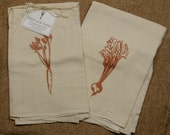 Gift Set of Two Root Vegetable Flour Sack Towels