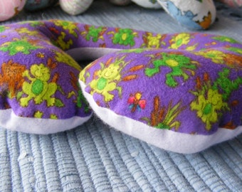Toddler Travel Pillow, Frogs