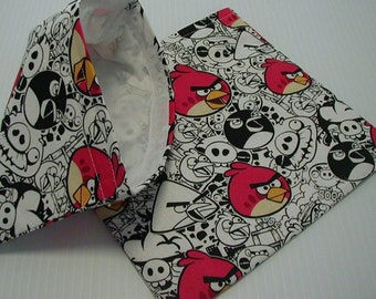 2pc Angry Bird Reusable Sandwich and Snack Bag