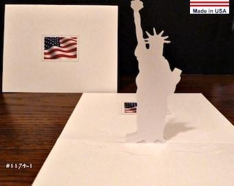 Statue of Liberty... Patriotic USA Symbol Item 1174 Outline details