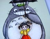 Seflie Totoro Postcard