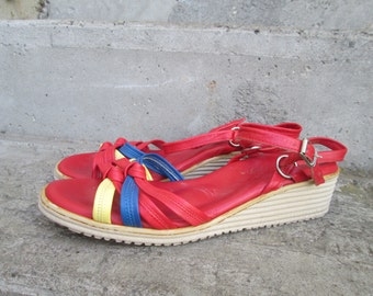 Vintage Italian Sandals Size 8.5M