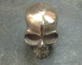Mini Bronze Skull A