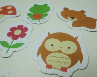 Forrest Friends Stickers