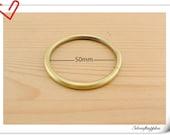 2 inch (inner diameter) metal round rings Anti bronze 10pcs   U1