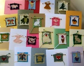 Custom Blank knitted Card of your choice