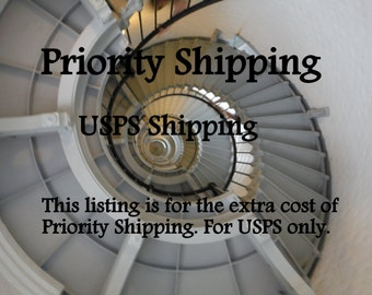 Priority Shipping Upgrade OPTIONAL for faster delivery for your order