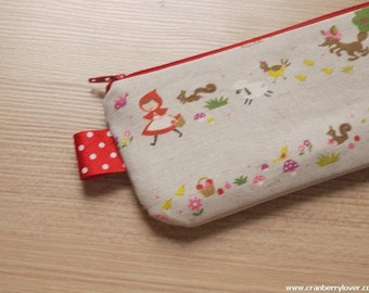 Little Red Ridding Hood pencil(pen) pouch