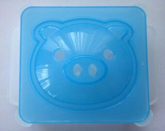 Cute Pig Face Japanese Sandwich Maker / Sandwich Cutter / Pork Bun Maker / Mold / Mould / Shaper / Stencil