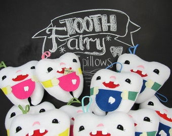 Tooth Fairy Pillow for boys and girls