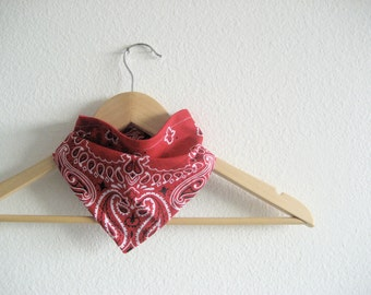 Red Bandana Bib for Baby