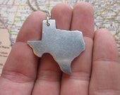 The Willie Necklace - Texas Love Pendant Necklace or Key Chain
