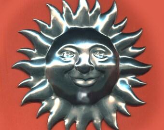Vintage 1 Huge Stainless Steel 3 Inch Sun Findings N5R