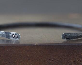 Mens Open Cuff Bracelet