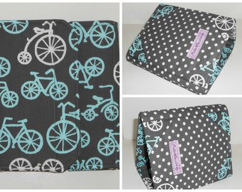 Kindle Fire Cover, Nook Glowlight Cover,  Standable Hardcover Case all sizes, Bike Ride eReader Cover