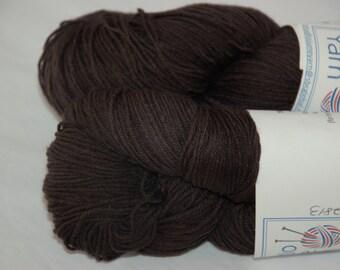 Studio June Yarn Sock Luck - Superwash Merino Wool, Nylon - Colorway: Black