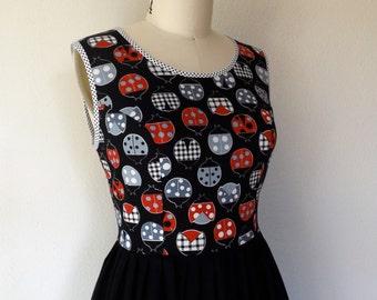 SALE Ladybird cotton and linen dress Sz 14