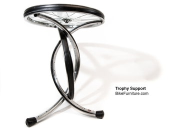 Trophy Table! Bicycle Wheel Table