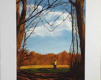 A Walk in the Woods - Print