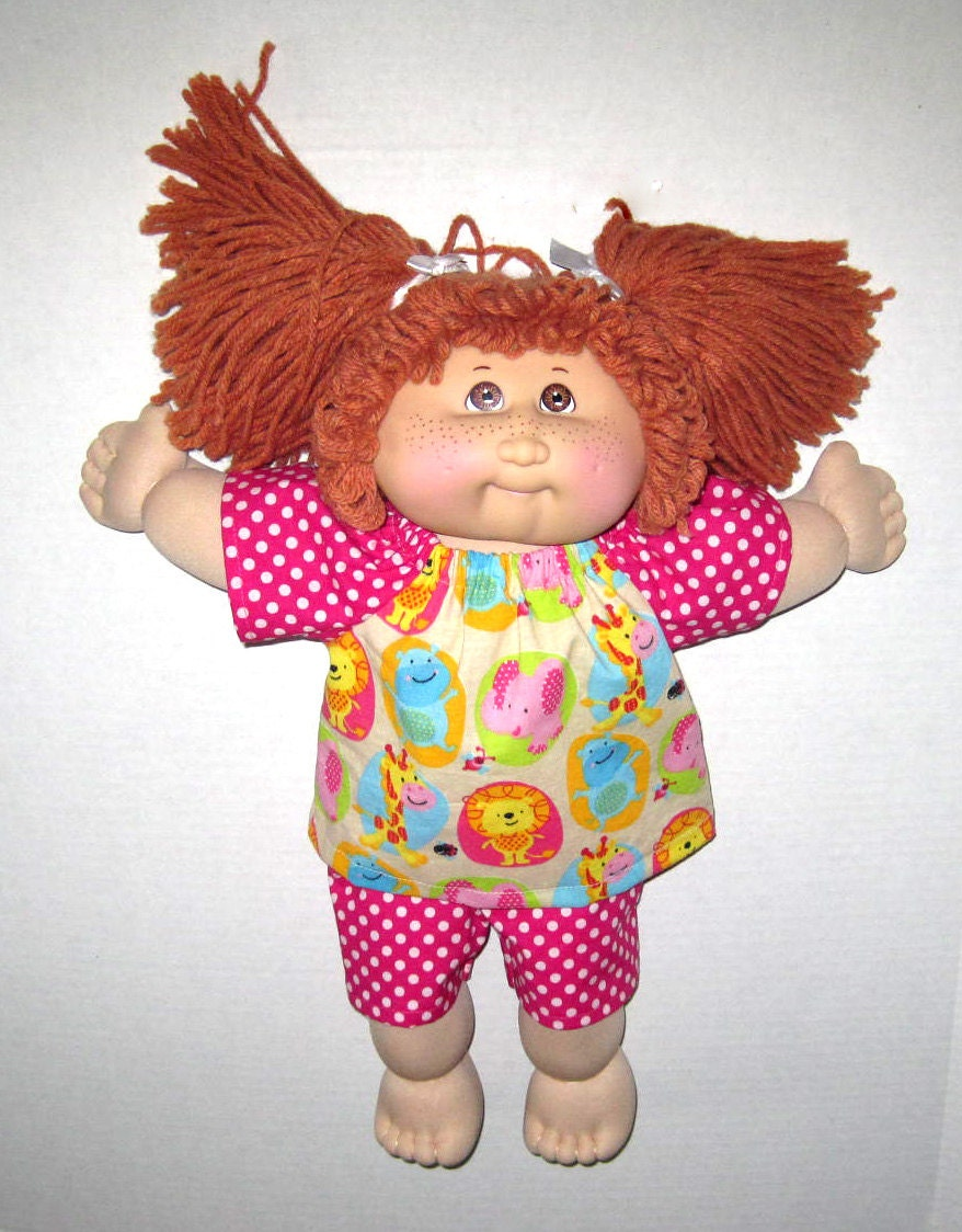 cabbage patch doll clothes 15 16 inch doll clothes pink