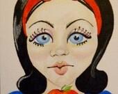 Snow White Print Original Art