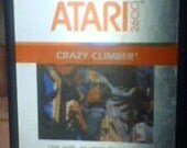 Atari Game Crazy Climber Game Hard to find Tested and works