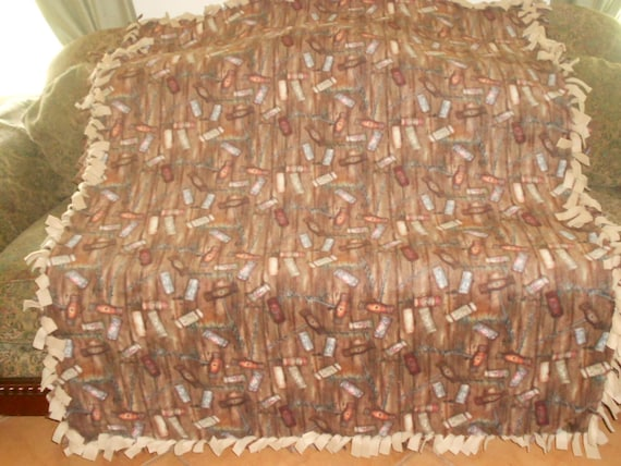 Wine cork screws and wine corks on brown wood pattern tan back for Wine cork patterns