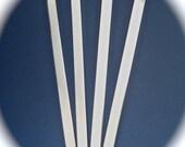 "24 Blanks 3/8 x 6"" Bracelet Cuff 14 Gauge Food Safe Aluminum Metal Stamping Blanks 24 Cuffs - Flat"