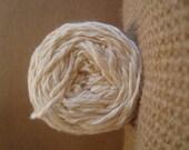 Natural Undyed Organic cotton Bamboo Yarn