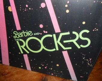 1985 Barbie and the Rockers Case