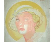 1933 Woman's Home Companion Magazine - Great Cover Art - Ads - Fashions - Reading - Illustrations
