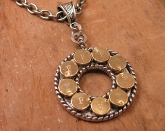 Bullet Jewelry - Gun Jewelry - 22 Caliber Round Chamber Style Pendant Necklace - Shooting Related