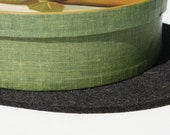 Mini Table Runner Centerpiece Thick Wool Felt Fabric Felted Tabletop Furniture Protector Desk Mat Surface Saver Hot Pad Table Decor Trivet