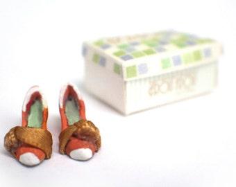 Miniature Greta Shoes + Shoebox