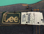 1970's Lee Denim Bell Bottoms Jeans