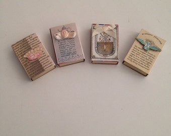 Hand Made match boxes