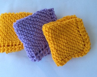 Cotton Dish Cloth set of 3