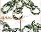 clearance bulk -20% / Y121NC / 40 Pc / 40 x 15 mm - Triggered Key Hook / Key chain Findings