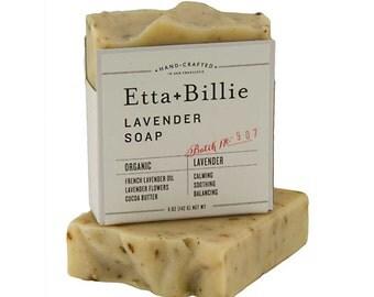 Lavender Soap Certified Organic Ingredients 5 oz